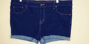 Plus size shorts size 18w